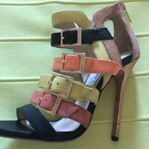 Jimmy Choo Multi Color Heels